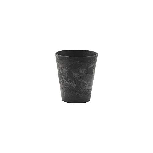 House Doctor 259190403 - Taza (plástico, 9 cm), color negro