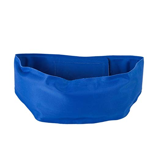 LOSVIP Haustier Halsband Klasse 2019, Kühlkragen Selbstkühler Halskette Drop Heat Schal(Blau,L)
