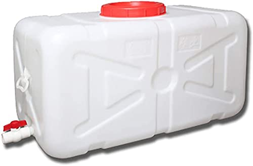 Cubo De Agua para Beber Tanque De Plástico De Grado Alimenticio Engrosado Tanque Grande Tapa De La Tapa Horizal Horizontal Horizal Tanque De Almacenamiento De Agua Grande,100L