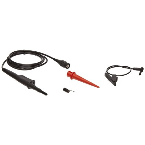 Fluke VPS101 5 Piece Double Insulated Voltage Probe Set, 1.2m Cable Length, 1x Attenuation, Black, For 190 Series ScopeMeter