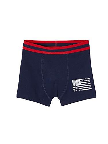 Vertbaudet 3er Pack Boxershorts Boys USA Gr. XX-Small, Graues Licht gemischte Farbe