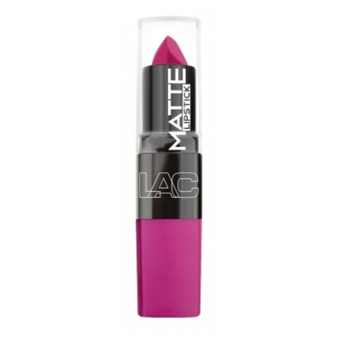 入手します浮く好奇心盛(6 Pack) LA Colors Matte Lipstick - Mad Love (並行輸入品)