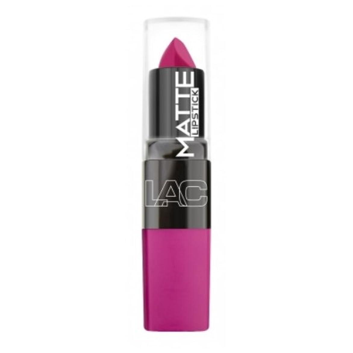 しがみつく刈る誇大妄想(6 Pack) LA Colors Matte Lipstick - Mad Love (並行輸入品)