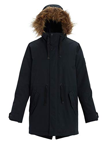 Burton Damen Saxton Parka, True Black, L