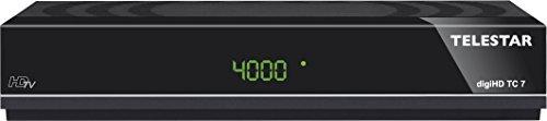 TELESTAR digiHD TC 7 HDTV Kabel Receiver (HDMI, Scart, USB, Aufnahmefunktion, LAN, schwarz