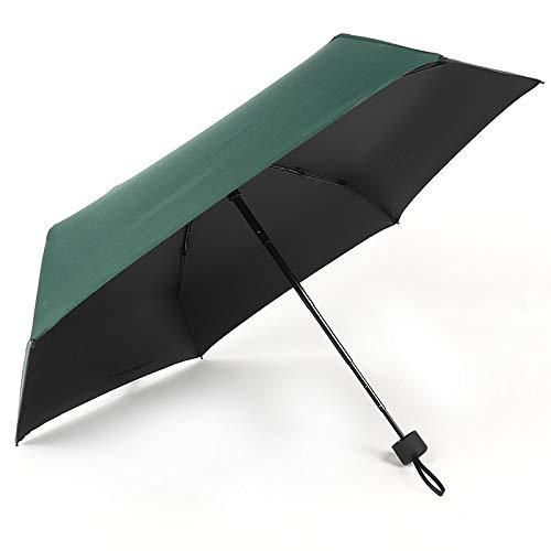 LYMCDP Ombrelli, Nuovi Ombrelli Pieghevoli Ultraleggeri, Ombrelli Portatili Per Ombrelli Da Sole E Pioggia, Ombrellone, Crema Solare E Protezione Da Raggi Ultravioletti
