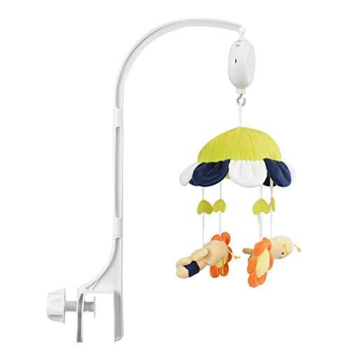 iSpchen Mobile Halterung für babybett Kinderbett, Verstellbarer Mobile Halter DIY Spielzeugdekoration hängende Armhalterung