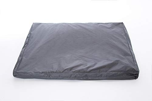 Morezi DIY Do It Yourself Pet Kussensloop: Waterbestendige Dog Bed Liner, Wasbaar, Waterdichte Liner Interne Hoesje in Medium of Large voor Hond en Kat - Cover only, Medium(69x92x12cm), Grijs