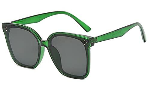 Gafas de sol unisex Fitover Gafas de sol Retro Redonda Lentes Únicas Planas Espejado Gafas de Sol Metal Moda Simple La Optica