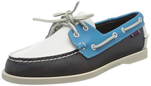 Sebago Portland Spinnaker, Men's 70001B0 Boat Shoes Multicolour (Navy-Ltbluewhite 974) 6 UK, 39.5 EU