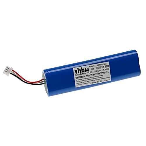 vhbw Batterie Compatible avec Ecovacs Deebot Ozmo 930 Robot électroménager (3200mAh, 14,4V, Li-ION)