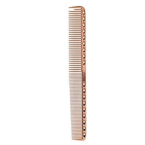 Aluminium Metallkamm Kamm Friseure Rosengold L Salon Berufskämme 21,5cm