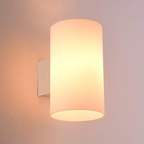 DSJ LED wandlamp slaapkamer bedlampje modern eenvoudig glas Nordic Japanse woonkamer balkon gang trap wandlamp, klein