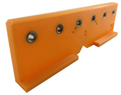 Livindo Flex.One Flexible Kombinierte Bohrschablone Ankörnschablone Bohrlehre Lochreihe Kreuz-Montageplatten Scharniere