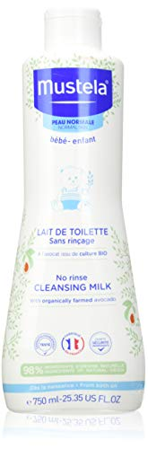 Mustela Cleansing Milk No Rinse 750ml
