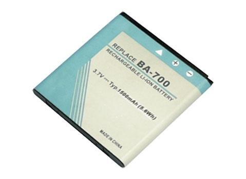 3,70V 1500mAh Batterie BA700, Batterie de remplacement pour Sony Ericsson Xperia miro, Xperia neo MT15i, Xperia neo V, Xperia neo V MT11i, Xperia pro MK16i, Xperia ray, Xperia ray SO-03C, Xperia ray ST18a, Xperia ray ST18i, Xperia tipo Smart Handy Batterie