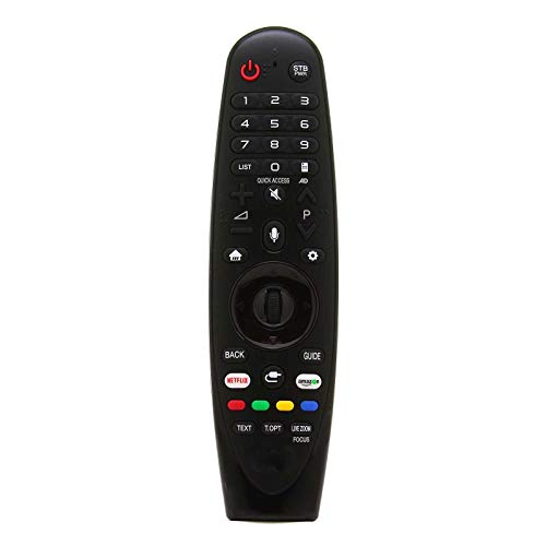 121AV - Mando a Distancia de Repuesto Magic Voice para LG 65UK6950 65UK6950PLB 55UK7550 55UK7550PLA Smart LED TV