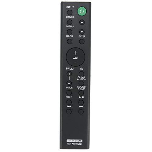 RMT-AH200U Mando a Distancia - VINABTY RMTAH200U AV System Reemplace Control Remoto para Sony HT-CT390 SA-CT390 SA-CT390 HT-RT3 SA-WRT3 SS-RT3 RMT AH200U RMT-AH200U Remote Control