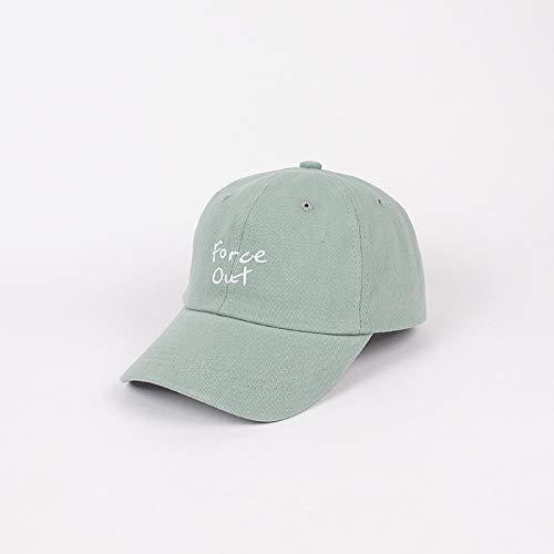 Sombrero para niños Nuevo Bordado de Letras Simples versión Coreana de la Tendencia de Las Gorras de béisbol Sombrero de bebé de Color Caramelo de Tiro Callejero cálido