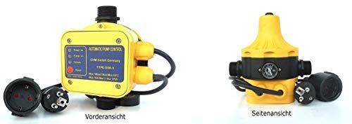 CHM GmbH pompbesturing automatisch DSK 5, drukregeling, drukschakelaar. De DSK 5 zorgt voor constante druk, bewaakt de waterstroom incl. droogloopbeveiliging.