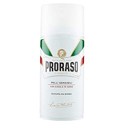 PRORASO White Shaving Foam, 300 ml by PRORASO
