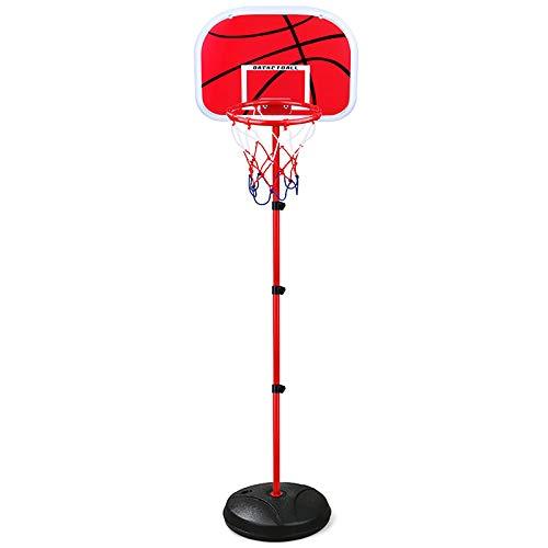 ZZLYY Canasta De Baloncesto Portátiles, Canasta Baloncesto Infantil Ajustable 120-200cm, Canastas De Baloncesto Exterior con Balon Y Inflador Soporte para Ejercicio De Niños,200cm