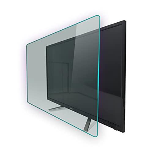 AMDHZ Screen Protector, para TV de 32-75 Pulgadas 95% Transparente, Antiarañazos/antihuellas, Cansan los Ojos y te ayudan a Dormir Mejor (Color : HD Version, Size : 70 Inch 1538X869mm)