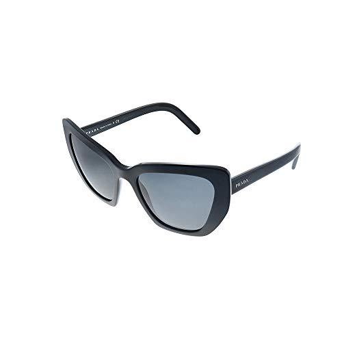 Prada 0PR 08VS Gafas de sol, Black/, 55 para Mujer