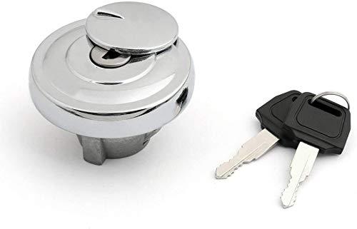 Ghost thorn Fuel Gas Tank Cap Keys Set compatible For Yamaha DragStar Vstar XVS650 950 1100 1998-2017