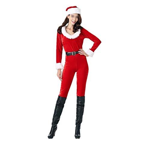 XYAL0006001 Rode Kerst meisje jurk-stuk jurk, Kerst kostuums nachtclub babes performance kleding, DS kostuums Kerstmis dienst Mary, Xingyue Aile kerstbenodigdheden