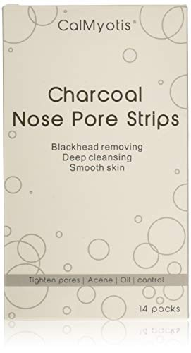 Pore Strips, Blackhead Remover Charcoal Nose Strips Deep Cleansing 14 Strips