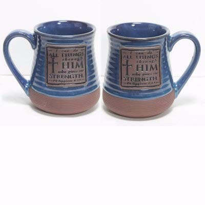 Abbey Gift Can Do All Things Pottery Mug