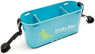 バギーバッグ ベビーカー用バッグ プラスチック製 洗える 防水 ストライダー オプション パーツ 出産祝い プレゼント ベビーカー コンビ ピジョン A型 B型 ストローラーバッグ リトルレックス 2WAYプラバッグ(ターコイズブルー)