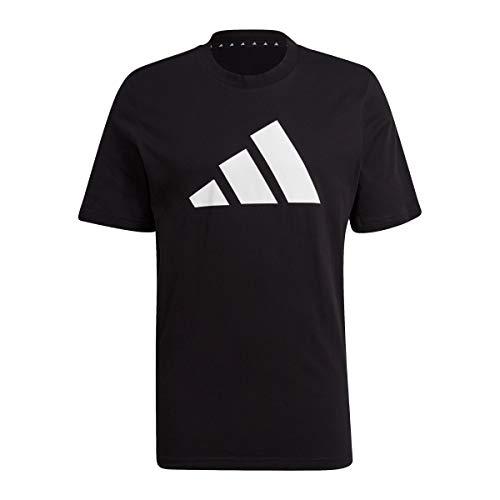 adidas GP9503 M Fi Tee BOS A T-Shirt Uomo Black M