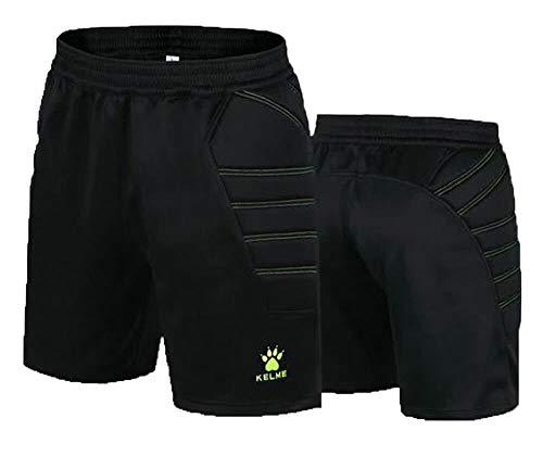 KELME Goalkeeper Padded Shorts - Goalie Soccer Shorts for Men and Women
