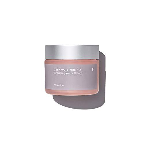 Care Skincare Deep Moisture Fix Hydrating Water Cream- Gel-cream moisturizer for face, ultra hydrating with Hyaluronic Acid + Aloe Vera + Vitamins C & E + Caffeine. Day & night Cream.