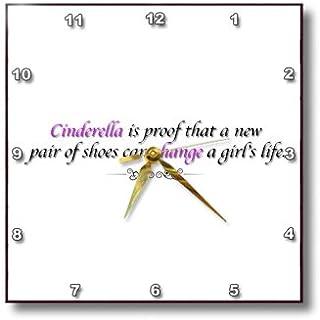 3dRose dpp_182951_1 Gladioli-Wall Clock, 10 by 10-Inch