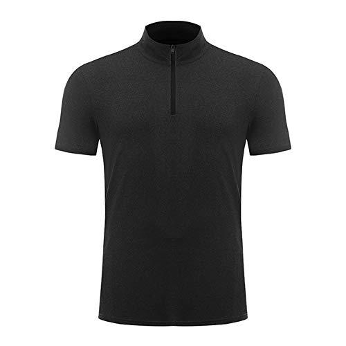 SSBZYES Camiseta De Hombre Ropa De Fitness para Hombre Camiseta Deportiva De Fitness para Hombre Camiseta De Manga Corta Código Europeo Color Puro Camiseta Casual Logotipo Personalizado