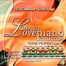 Greatest Love Piano Collection - Philippine Tagalog Music CD