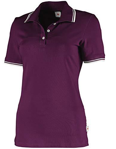 Whitewear Damen Polo-Shirt Piqué Mila Teampolo T-Shirt Praxis Arbeits-Kleidung Gr. S Berry