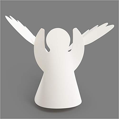 Rundum Engel, H: 10,5 cm, 25 Stck., 230 g
