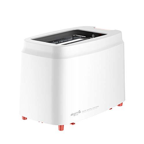 LIAO 2 Ranura Slice Toaster, tostadora, sandwichera Totalmente automática panificadora automática Tostadora Eléctrica para Hornear Pan Desayuno Máquina