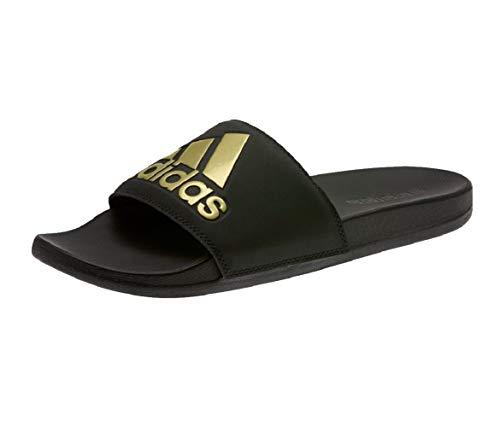 Adidas Comfort Adilette Badelatschen (42 EU, Black/Gold)