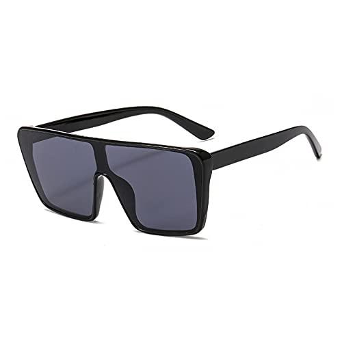 LUOXUEFEI Gafas De Sol Gafas De Sol Cuadradas Para Mujer, Espejos De Gran Tamaño, Para Hombre, Gafas Para Hombre