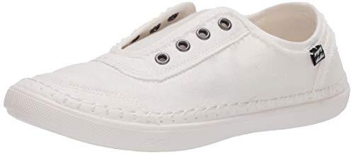 Billabong womens Cruiser Sneaker, White, 6 US