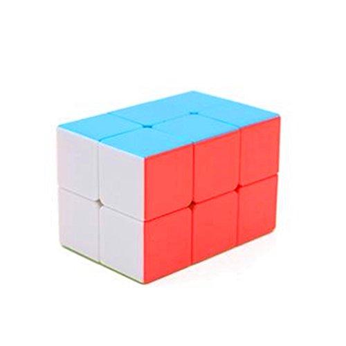 CuberSpeed 2x2x3 stickerless Cuboid Cube 223 Magic Cube Tower Shaped Magic Cube