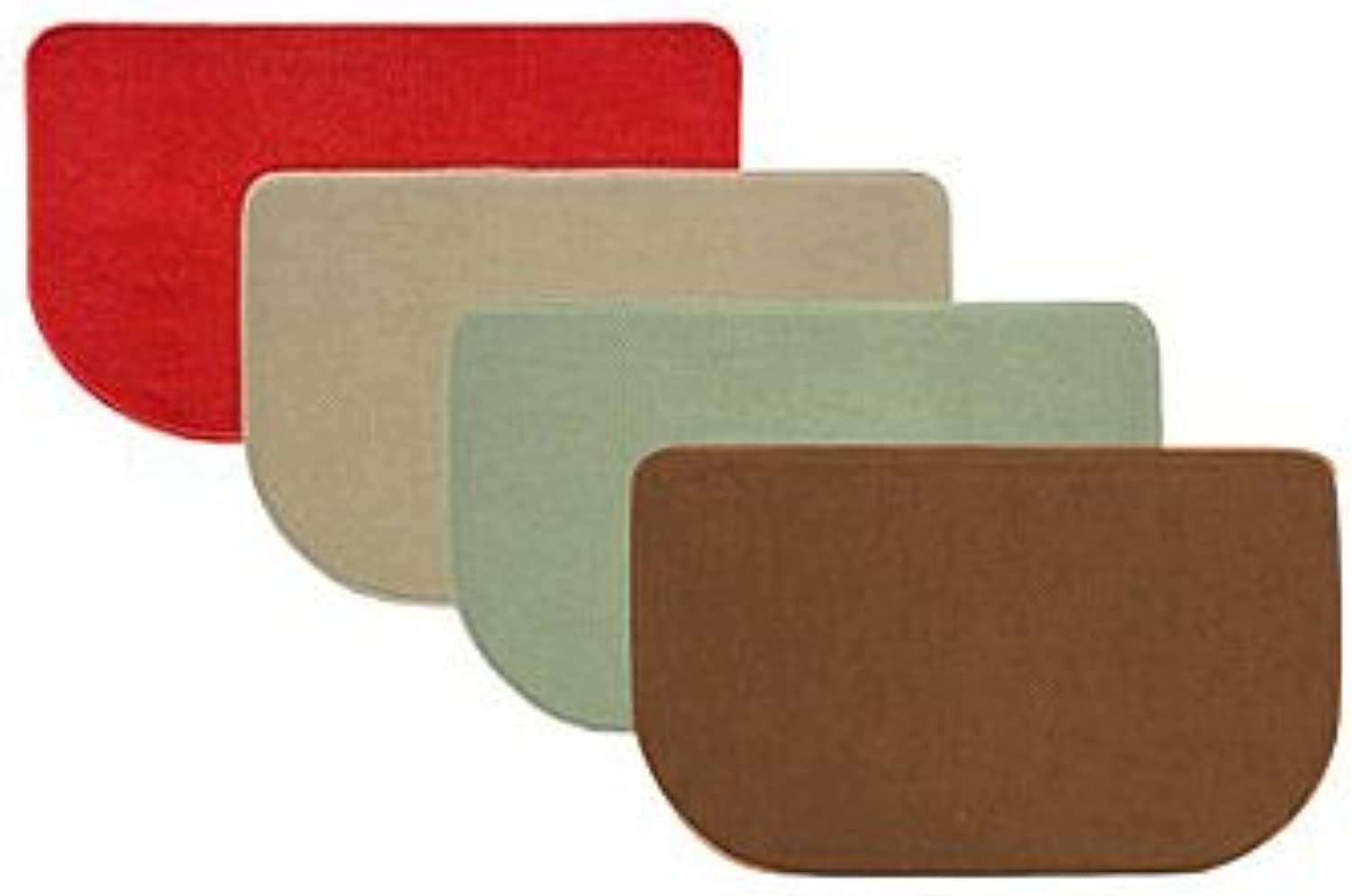 Bacova Guild 02475 Memory Foam Door Mat, 18-Inch by 30-Inch(Assorted)