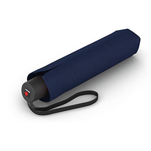 Knirps Taschenschirm I.050 Medium Manual - Patentierter Griff - Schlanke Form - Windproof - Navy