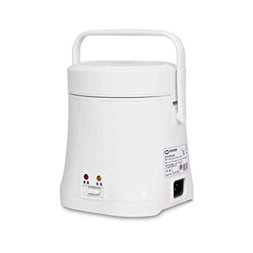Antihaft-Beschichtung Elektroherd, Edelstahl Hot Pot Suppe und Eintopf mit Over-Heizung Trockengehschutz (Farbe: weiß) (Farbe: Pink) lalay (Color : White)
