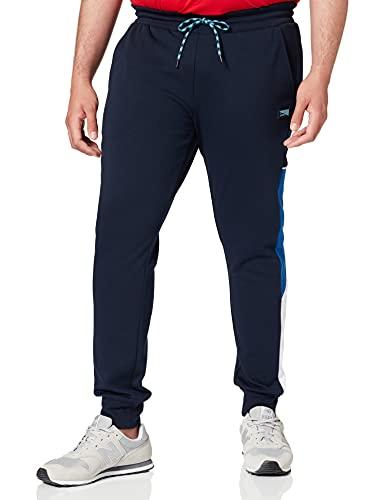 Jack & Jones Jjiwill Jjcarling Sweat Pants Pantalon de survtement, Blazer Bleu Marine, M Homme